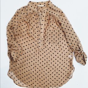 Fun Pleione Polka Dot Blouse